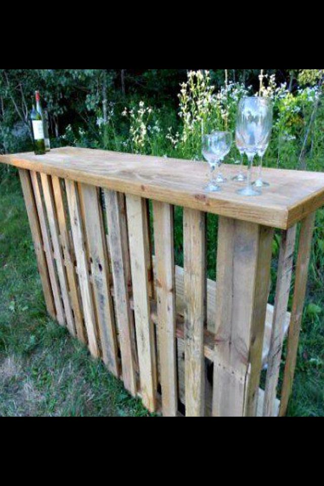 Another great pallet idea :) Now that I have the perfect pallet, this seems like the best idea!