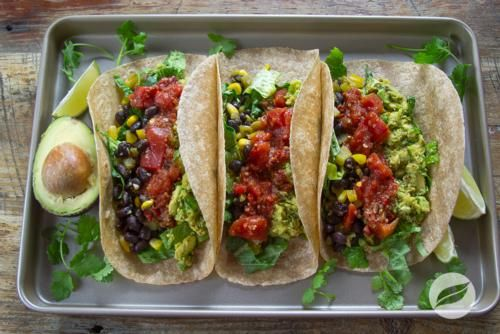 Wildtree's Black Bean and Guacamole Tacos Recipe www.MyWildtree.com ...