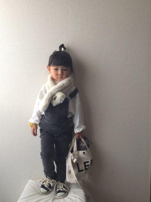 5fbd73a1b8c93a Chiiiii|マフラー・ショールを使ったコーディネート | My WEAR | ファッション, ホワイトコーデ, ショール