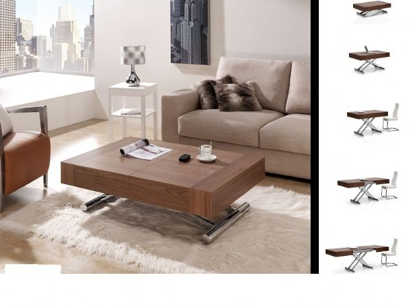 17 best images about mesas de centro elevables y for Comedor completo con mesa de carree