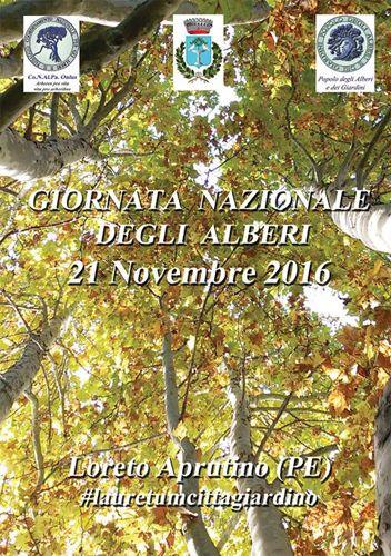 Loreto Aprutino Giornata Nazionale degli Alberi con il  profumo delle aromatiche