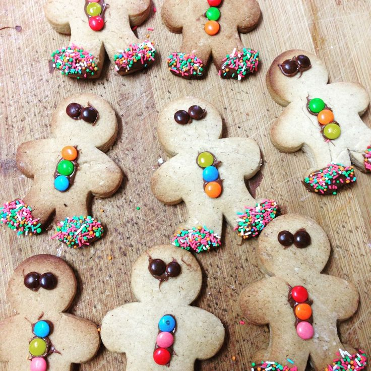 Gingerbread Men - great for parties or school bake sale