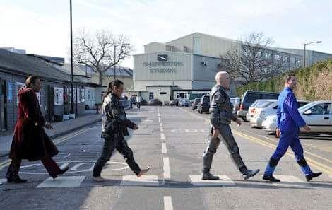 Red Dwarf's Abbey Road