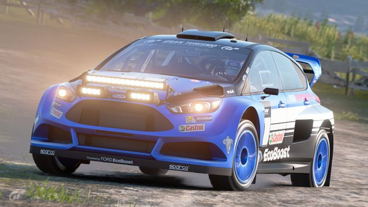 2016 Ford Focus ST Gr.B Rally Car MkIII