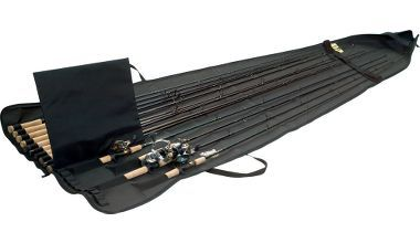A good case for both storage and transportation of our fishing rods and reels.