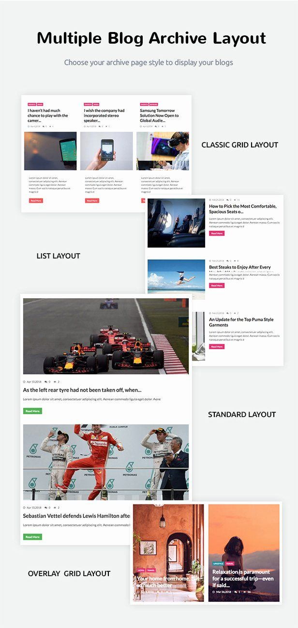 One Page Landing Page Template In 2020 Magazine Theme Wordpress Website Template Website Template Design