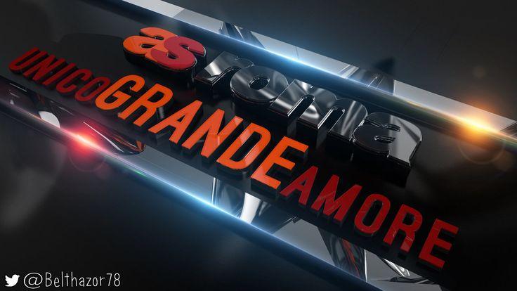 Unico Grande Amore - A.S. Roma 2016 by Belthazor78.deviantart.com on @DeviantArt