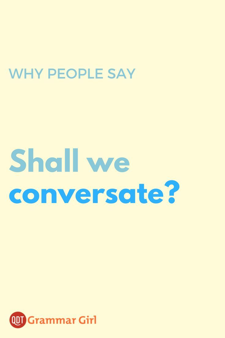 Is Conversate a Word? | Grammar Girl: Tips | Grammar, Words