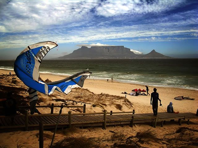 Camps-bay kitesurf Cape Town ♥♥