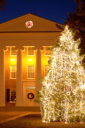 Come out Wednesday (Nov. 28) at 6:30 for the annual university tree lighting!