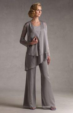 burda pantsuit winter mother of the bride - Google Search