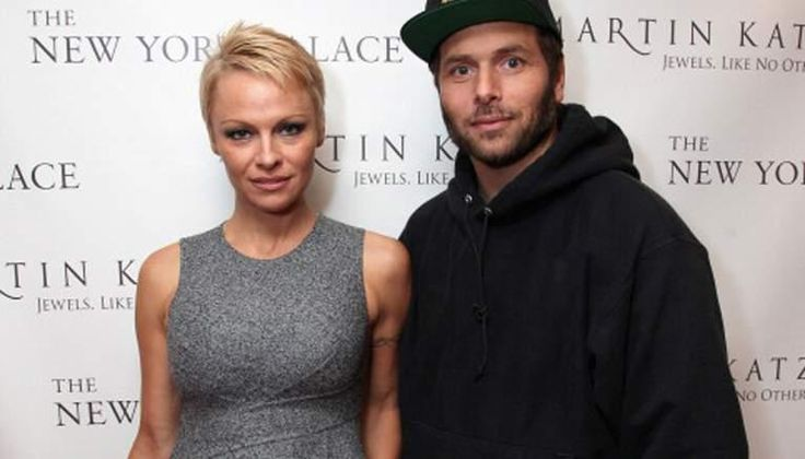 This temporary restraining order against Rick Salomon was given on the basis of domestic violence. But Rick also claims that Pamela Anderson is a