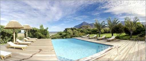 Self catering accommodation, Noordhoek, Cape Town   Panoramic view of the swimming pool   http://www.capepointroute.co.za/moreinfoAccommodation.php?aID=466