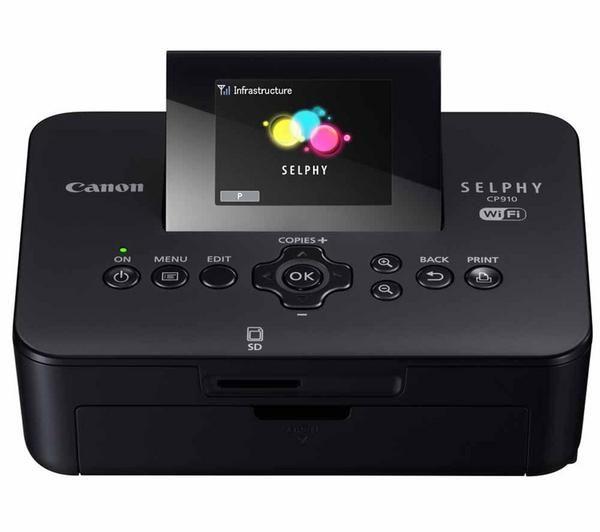 CANON SELPHY CP910 - noir - Imprimante photo couleur à sublimation thermique - sans fil + réseau