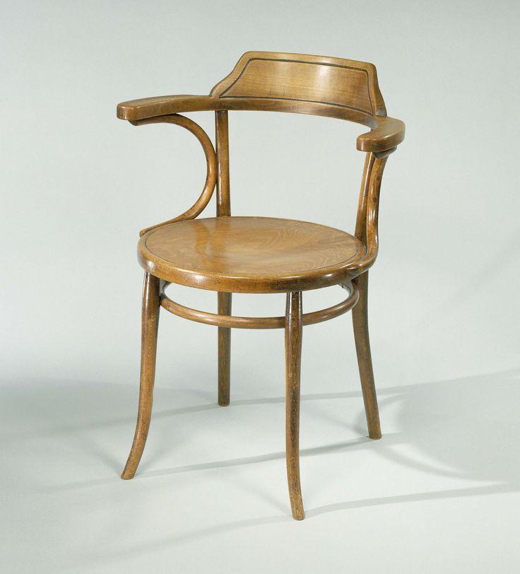 Amazing Otto Wagner Bureaustoel van dr W Drees Otto Wagner Gebroeders Thonet