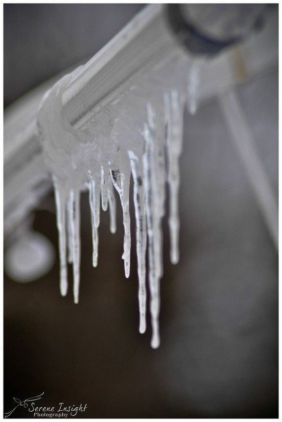 Icicles ... yup!