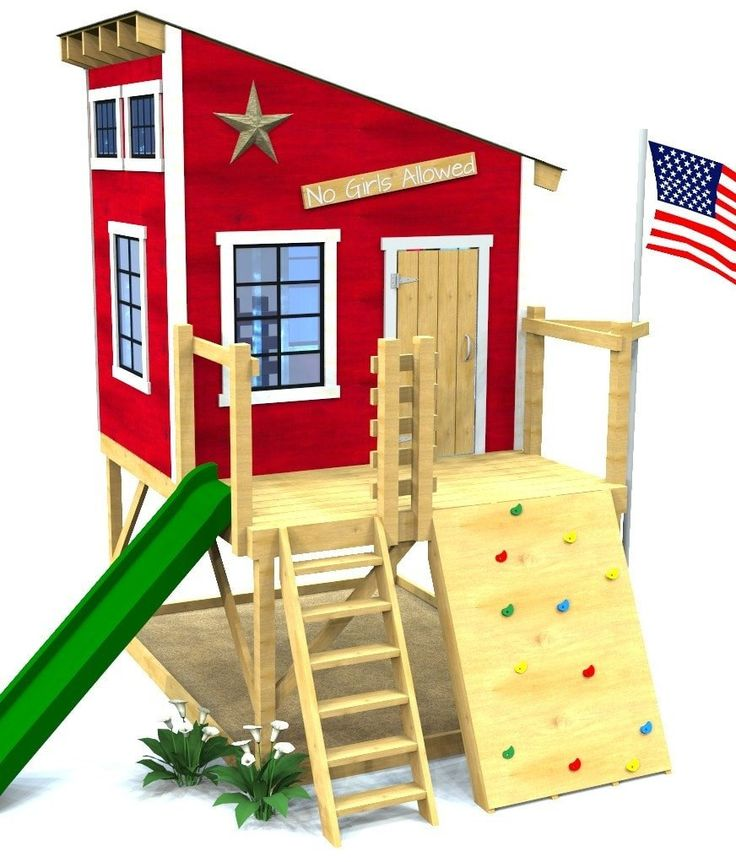 Secret clubhouse plan diy pinterest clubhouses for Barn and silo playhouse