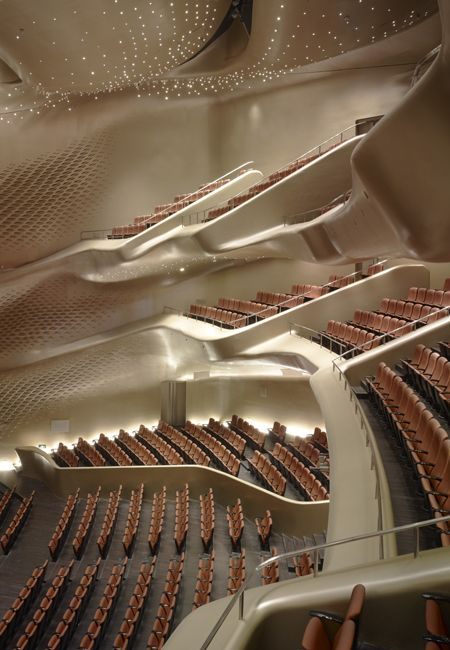 Guangzhou Opera House - Guangzhou, China - Zaha Habib a female architect from Iraq. One of the most important architects working today!