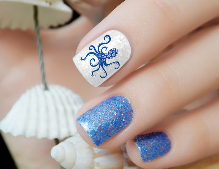 10 best spring break nail art images on pinterest nail decals nautical nail art decals set 3 prinsesfo Choice Image