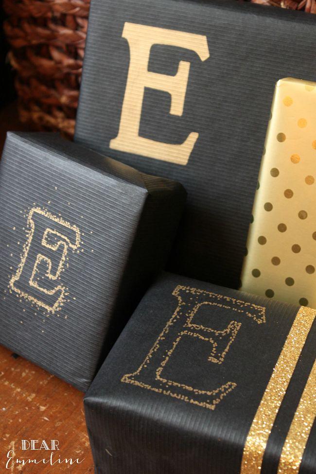 Dear Emmeline: December 17: Sharpie Metallic Packaging