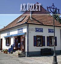 Fabric shop in Szentendre