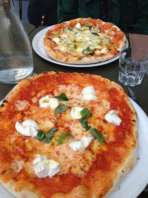 Pizzeria: One of the best pizza in Paris: MARIA LUISA. 2, Rue Marie et Louise - 75010 Paris (M° Goncourt)