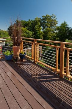 "I like this deck-railing, its a tad bit unique and it adds some ""zest"""