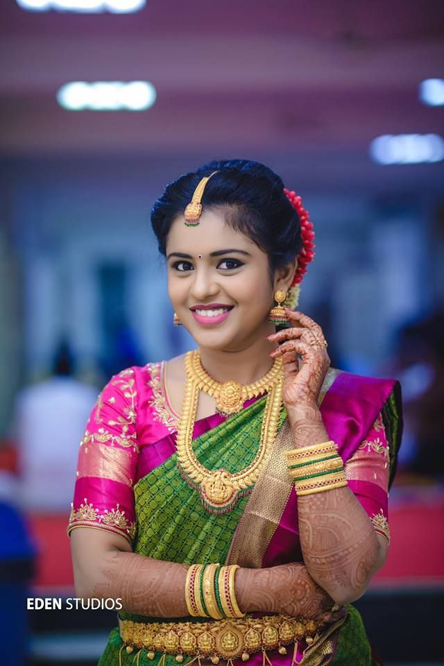 Ezwed Has Everything A South Indian Bride Needs To Plan Her Dream Wedding Wedding Ideas Inspiration From Real Indian Bride Poses Bride Photoshoot Bride Poses