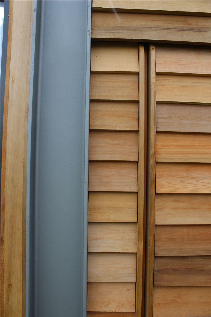 Cedar Cladding And Steel Portal Frame Weatherboard