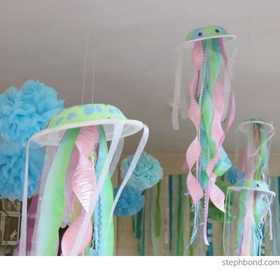 decorations for mermaid party/underwater theme