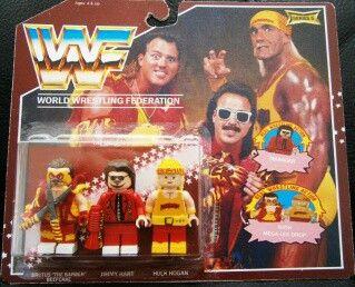 Lego ☆ WWE Lego Please like, share and follow  #wwelego #lego #legos #coollego #funnylego #followforfollowback #followme #share