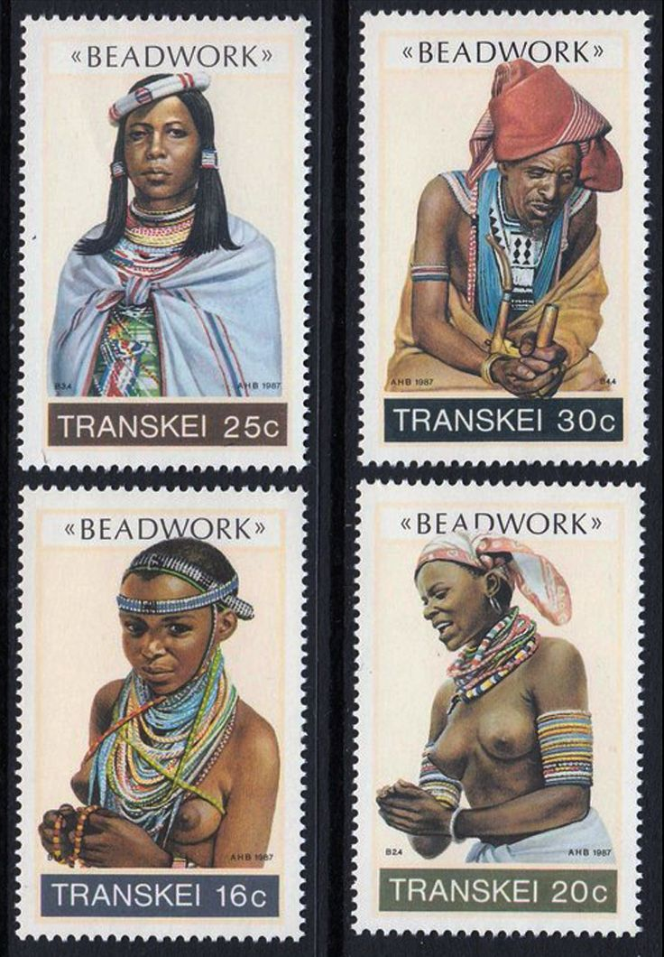 """""""Beadwork""""  Transkei.  South Africa 