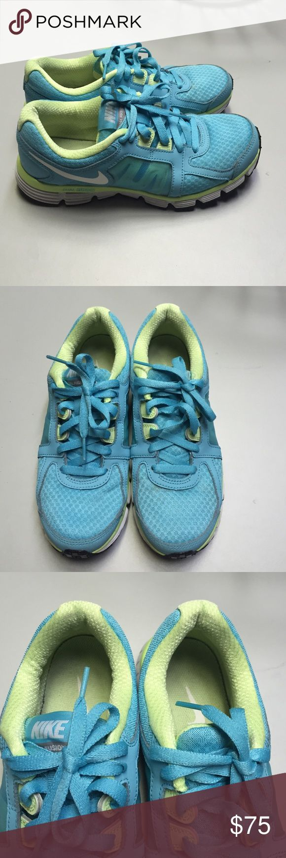 Nike Tiffany blue sneaker Worn few times,already washed ,no strains and everywhere in a good condition,purchased at the shoes sport shop. Nike Shoes Sneakers
