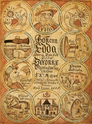 The Poetic Edda is a collection of Old Norse poems primarily preserved in the Icelandic mediaeval manuscript Codex Regius. Along with Snorri Sturluson's Prose Edda, the Poetic Edda is the most important extant source on Norse mythology and Germanic heroic legends.