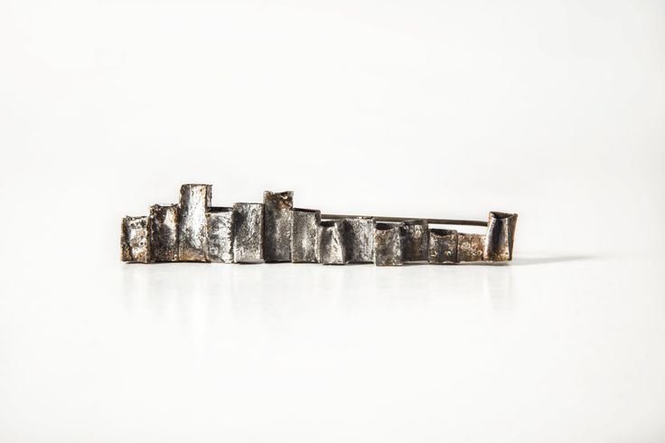 "Erato Kouloubi. ""Cities In Dust"" Collection - ""Su″ brooch. 2014."
