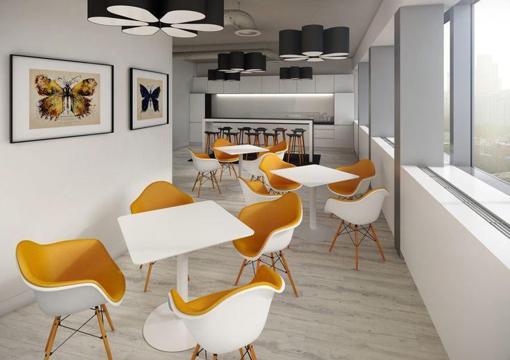 Pomieszczenie socjalne - projekt  dla First Property / Social room - project for First Property