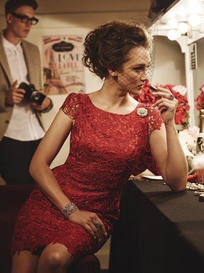 Majestic Dress in Ruby!!