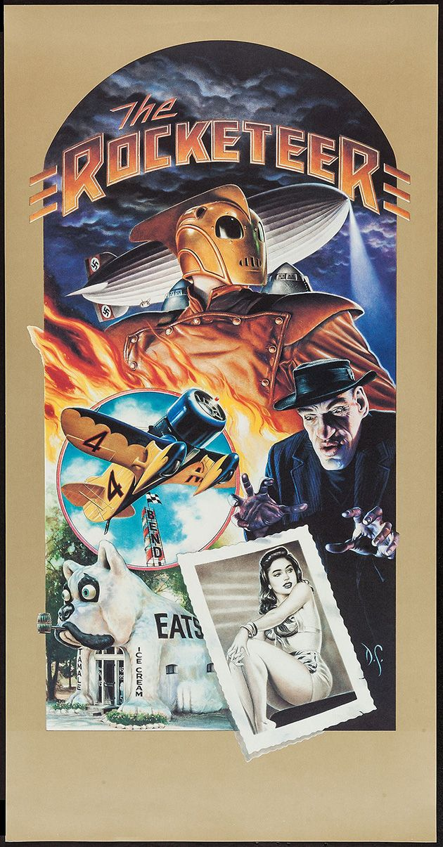 The Rocketeer by Dave Stevens Movie Poster