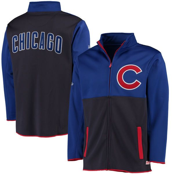 Chicago Cubs Stitches Fashion Track Jacket - Royal - $64.99