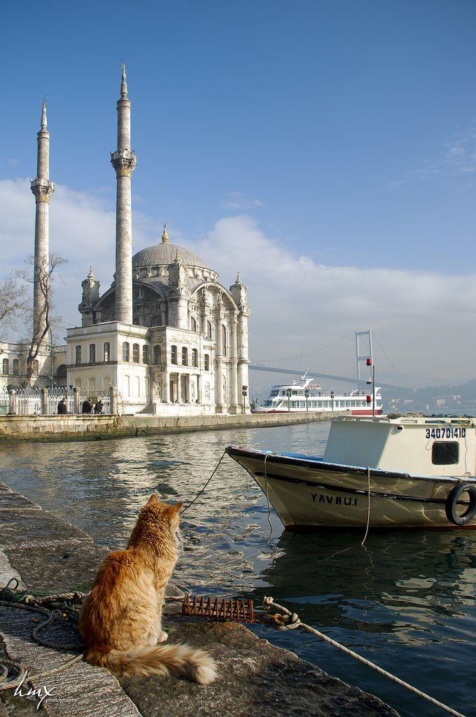 Ortaköy Mosque - Büyük Mecidiye Camii, Istanbul, Turkey