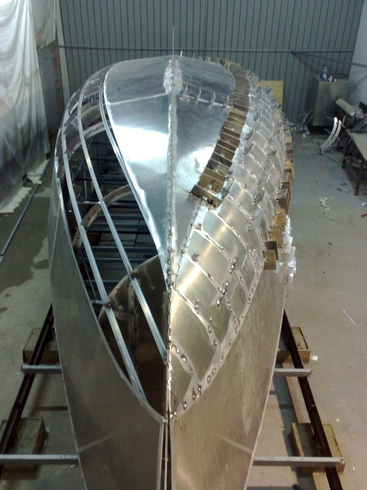 37 best Steel & Aluminum Boat Plans images on Pinterest ...