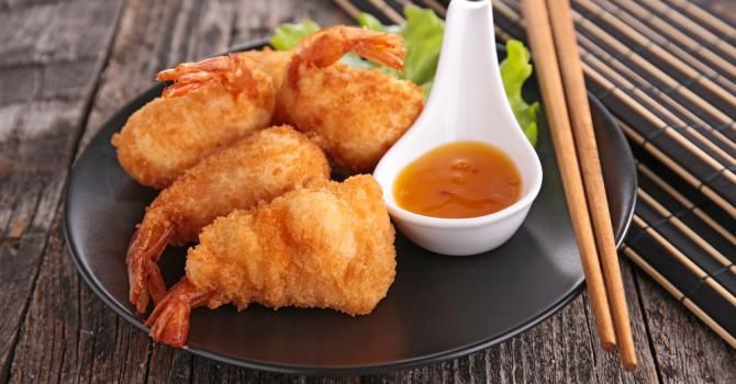 Recette de Beignets de crevettes légers sans friteuse. Facile et rapide à réaliser, goûteuse et diététique. Ingrédients, préparation et recettes associées.