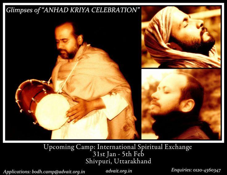 International Spiritual Exchange! Led by Shri Prashant 23rd Advait Learning camp 31 st Jan- 5th Feb, Shivpuri Utharakhand. Apply at: bodh.camp@advait.org.in Enquiries: 0120-4560347 Do not miss the magic! #ShriPrashant #Advait #Learningcamp Read at:- prashantadvait.com Watch at:- www.youtube.com/c/ShriPrashant Website:- www.advait.org.in Facebook:- www.facebook.com/prashant.advait LinkedIn:- www.linkedin.com/in/prashantadvait Twitter:- https://twitter.com/Prashant_Advait