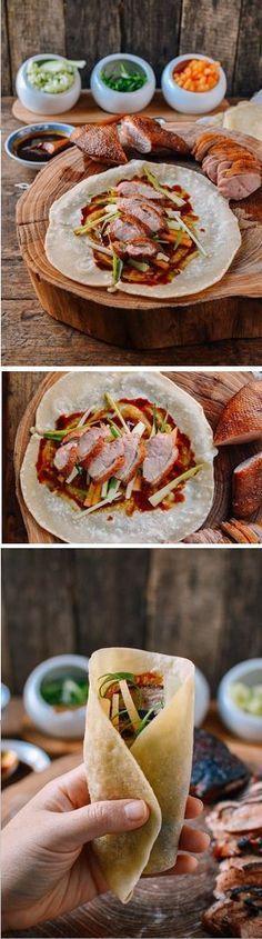 CAs Recipes | Easy Peking Duck (Really) with Homemade #Mandarin #Pancakes