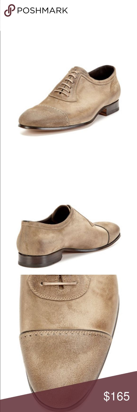 """n.d.c Oxford suede shoes Handmade suede oxfords, great condition, leather sole with a leather and rubber heel, heel 0.75"""", six eyelets, cord lacing, round cap toe. Made in Portugal n.d.c. Shoes Oxfords & Derbys"""