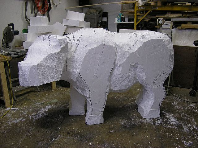 Best images about foam carving on pinterest latex