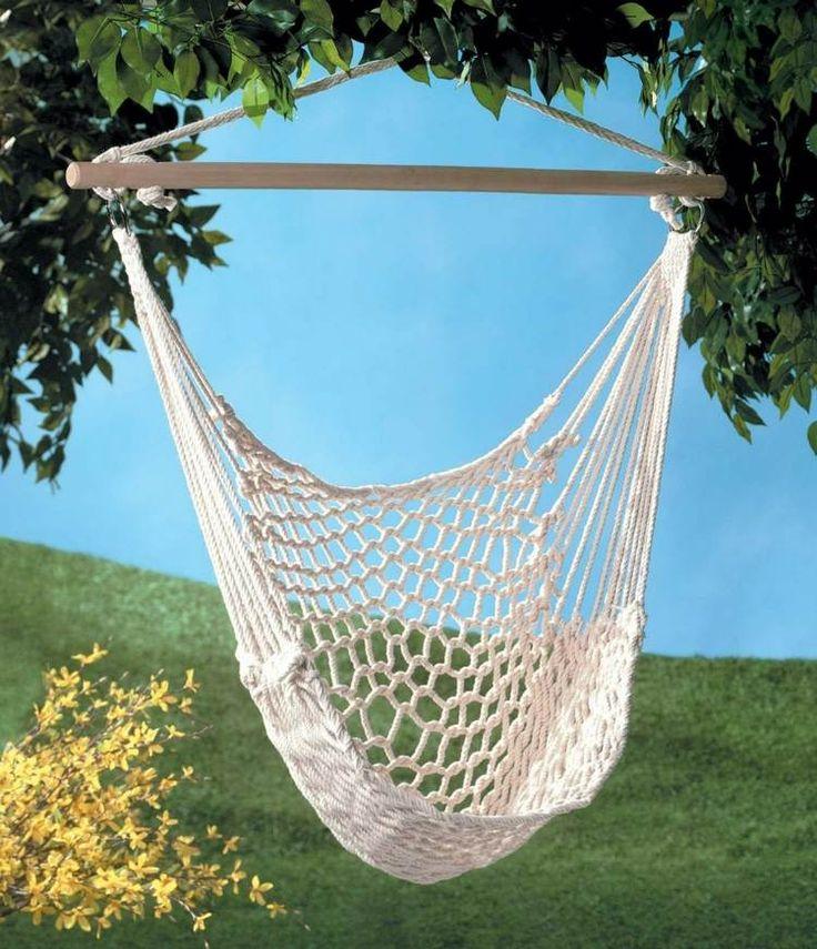 hamac chaise et fauteuil suspendu id es ext rieur et. Black Bedroom Furniture Sets. Home Design Ideas