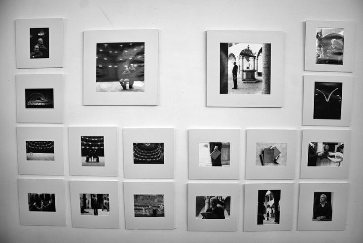 Allestimento nostra mostra fotografica