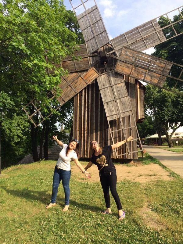 Bucharest Greeters - wooden windmill in Village Museum. For more pics, click here :)