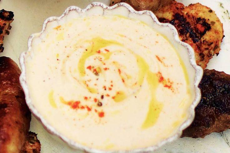 Kijk wat een lekker recept ik heb gevonden op Allerhande! Romige kaas-paprikadip